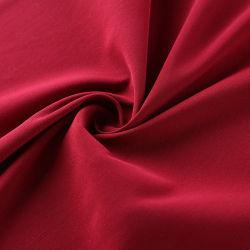 Alta calidad de satén de seda tejido teñido