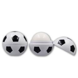 フットボールの整形容器のリップ・クリームの習慣のブランド
