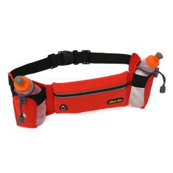 Поясная сумка фитнес тренировки Sport ремень с двумя бутылка воды