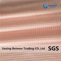 Tejido elástico alto transpirable Nylon/Spandex tejido Jacquard para ropa deportiva