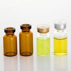 Olho de reagente queda de conta-gotas de vidro âmbar Líquido de aromaterapia vaso de pipetas