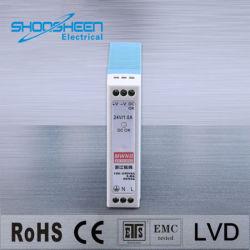 Mdr Meanwell-10-24 12V Rail DIN Alimentation à commutation de sortie unique 24V 10W circuit driver de LED