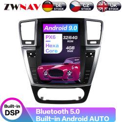 Android 9.0 4+64g Px6 Tesla Voiture de l'écran vertical de style de navigation GPS pour Mercedes-Benz ml 2012+ GL 2013+ Radio lecteur de DVD multimédia
