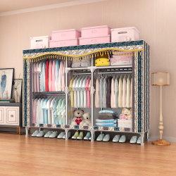قماش قماشي قابل للطي، خزانة ملابس عصرية للأطفال، نمط محمول 25 مم