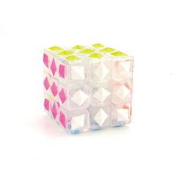 Beste verkaufengeschwindigkeits-magisches Würfel-Puzzlespiel-magisches Plättchen-Spiel-Puzzlespiel-pädagogische Spielwaren der Missbildung-3*3*3 für Großverkauf