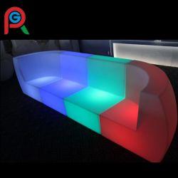 Nuevo cambio de color de luz LED Sofá para discoteca