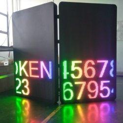 SMD RGB a todo color P8 de doble cara el tráfico de la pantalla LED de exterior cartel