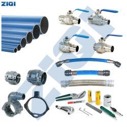 Fácil operação e tubo de ar azul de alumínio Industrial & nas conexões com as Peças do Compressor de Ar