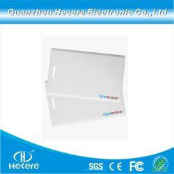 بطاقة تعريف التقارب RFID بحجم 125 كيلو هرتز بحجم 1,8 مم سمك بطاقة تعريف التقارب مع الرقم التسلسلي لنظام الوصول إلى الباب