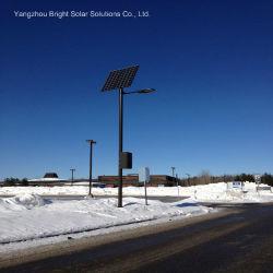 LED galvanizados a quente de luzes da rua o Post com aprovado pela CE