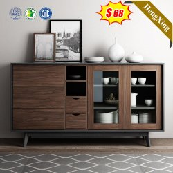 Gli armadi da cucina moderni del salone si dirigono pranzare la mobilia di legno stabilita del Sideboard