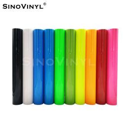 Sinovinyl Wholesale 직물 PU 소재 티셔츠 Heat Transfer Vinyl for 옷