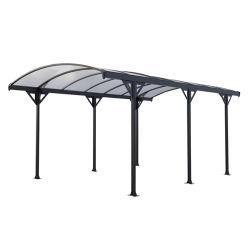 高品質16*10FTポリカーボネートシートの屋根ふきが付いている多機能車の駐車小屋のガレージのCarport