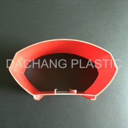 Shell Red Light Bar Coextrusion en polycarbonate