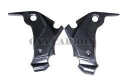 A fibra de carbono Moto Peças inferior de painel lateral para a Kawasaki ER6-N 09