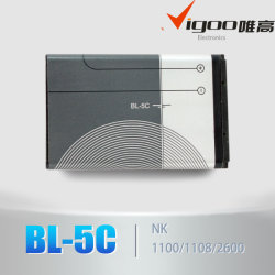 Аккумулятор для сотового телефона NK BL-5C телефона 3100/N70/N71/N91/3650/E50 (BL-5C)