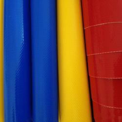 Lona de PVC colorido para Material inflables