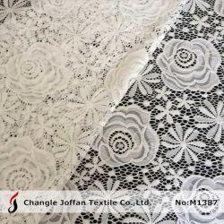 Tricotage chaîne vêtement tissu rose Dentelle (M1387)