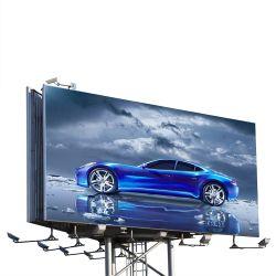 بنية لوحات إعلانية كبيرة الحجم ذات جهة مزدوجة على الطريق السريع