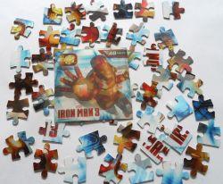 3D impreso Iron-Man rompecabezas de juguete