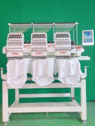 3 Head 15 Needles 2021 New Sequin كمبيوترى SWF آلة التطريز شقة Tajima المستخدمة في كوريا اليابان مع الكمبيوتر آلة التطريز
