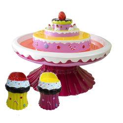 De nouveaux éléments drôles d'Amusement Park gâteau Tableau de sable