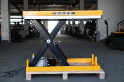 Elevação mercadorias estacionário de Elevação Hidráulica Tesoura mesa de elevação com ios9001