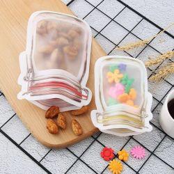 Mason Jar Ziplock Plástico Saco de armazenamento de alimentos Stand up Bolsas