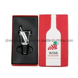 Rolha de vinho em forma de balde de gelo na caixa de oferta (608143)