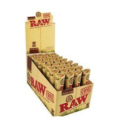 Raw Cânhamo orgânico fino King Size Papéis de Rolagem