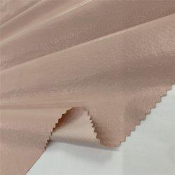 De Fabrikant van China in Stof 100% van het Satijn van de Levering van het Punt van de Voorraad Stof van het Satijn van de Rek van de Polyester de Materiële