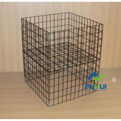 سلك حديد طيّ سلك متجر البيع بالتجزئة حاوية تفريغ الترويج Cube (PHY523)