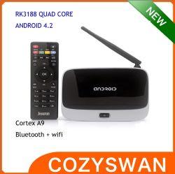 Установите флажок для Android Smart TV Xbmc 13.0 Quad Core телевизор в салоне CS918 Quad Core Android 4.4 Smart TV .