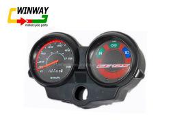 Ww-7233 CG125 Compteur de vitesse du ventilateur de Pièces de moto Kses Instrument ABS