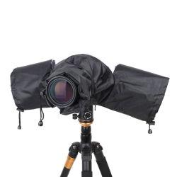 """캐논 니콘 펜탁스 DSLR 카메라 렌즈 방수 후드 쉴드, 사진 SLR 카메라 레인 커버 레인코트 디지털 카메라 도구 Esg13157"""""""