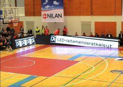 P10 для использования внутри помещений по периметру светодиодный дисплей экран системной платы для игры в баскетбол