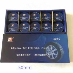 Caoutchouc butyle nanocomposite libre de colle réparation de pneuen caoutchouc Patch à froid