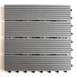 Leistungsfähige des Installaion Sicherheitskreis-WPC Klicken-Fußboden-Fliesen des Baumaterial-zusammengesetzte DIY