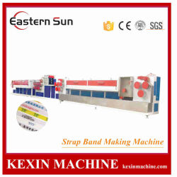 Plastic PE van pp Monofilament Garen die Extruder van de Gloeidraad van de Machine de Plastic uitdrijven