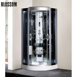 Touch screen computerizzato bagno turco doccia sauna bagno con ozono