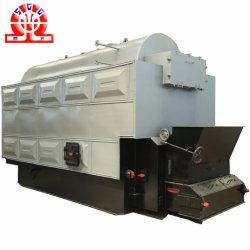 Desulfuración de gases de combustión de calderas industriales de vapor para el textil