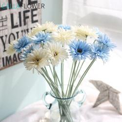 Искусственные цветы шелк Floking имитация гербера букет GF10004