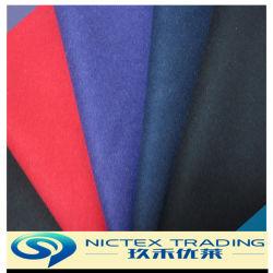 China-Lieferanten-Angebot Melton Wolle-Gewebe für Winter-Mantel, gesponnenes gemischtes Tweed Melton Gewebe, Wolle-Mantel-Gewebe-Preis
