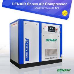 Huile d'entraînement à fréquence variable injecté trois vis de la Phase 3 compresseur à air (économiser l'énergie 30 %)
