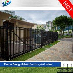 塀か振動か私道または金属または鋼鉄または自動囲う機密保護/Aluminium/Garden/または滑るか、または錬鉄のパネルのゲートのドアデザイン