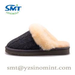 싼 도매는 여자를 위한 겨울 온난한 뜨개질을 한 슬리퍼를 개인화한다