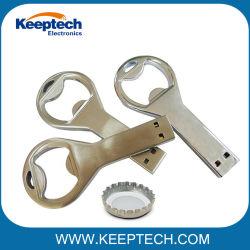 병따개 USB 저속한 드라이브 열쇠 고리