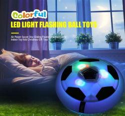 El aire interior más barata de Fútbol Soccer Hover Ball con luz LED