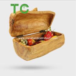 De houten Doos van de Wortel