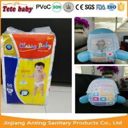 Os bebês do grupo de idade e tipo de fraldas descartáveis fraldas para bebé descartáveis